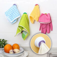 Useful Bathroom Storage Wash Cloth Towel Clip Kitchen Towel Storage Rack RS