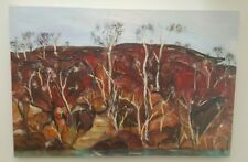 Kerry Larder 'Country' - Australian artist, original oil on canvas 91cm x 61cm