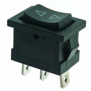 Momentary SPDT Rocker Switch 13x19mm