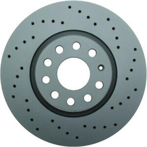 Disc Brake Rotor-Zimmermann Sport Front WD Express 405 54006 937