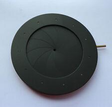Iris Diafragma de diafragma iris 2-50 mm 11 Blades para Microscopio Adaptador de lente de cámara