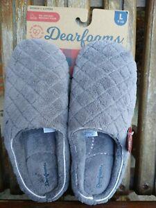 Dearfoam slippers large