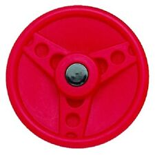 Solid Plastic Steering Wheel RED HEAVY DUTY Play Cubby Accessories Equipment