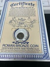 ROMAN BRONZE COIN OVER 1600 YEARS OLD