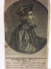 Jan Hus Jean Huss excommunié 1411bûcher protestantisme hussite XVIIe čeština