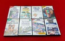 Lot de 8 jeux Sega Master system en boite fonctionne parfaitement !!