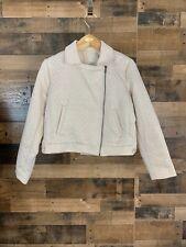 Andeawy White Gold Sparkle Jacket Blazer Size XL