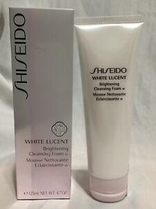 Shiseido White Lucent Brightening Cleansing Foam w 125ml / 4.7oz Sealed