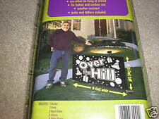 New Over the Hill Party Banner 4 Foot Huge Sign