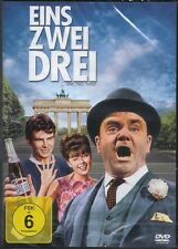 DVD EINS, ZWEI, DREI v. Billy Wilder, James Cagney, Liselotte Pulver ++NEU