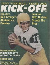 1962 KICK-OFF Football Yearbook