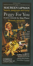 SIGNED Maureen Lipman 'PEGGY FOR YOU' Comedy Theatre  zb.83
