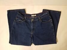 Levis 550 Womens Relaxed Boot Cut Blue Jeans Tag Size 12 Short