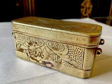Rare Antique Bronze Filipino Betel Nut Box