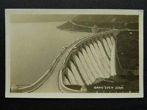 Mid Wales Rhayader Elan Valley GRAIG GOCH DAM - Old RP Postcard