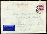 GERMANY, INTERALIADA OCCUP TO ARGENTINA Air Mail Cover 1949