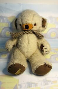 """Merrythought 14"""" Teddy Bear with scarf"""
