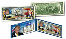 USA Official $2 Dollar Bill DONALD TRUMP 45th President of United States