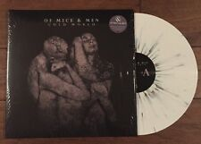 Of Mice And Men Cold World White W/ Black and Blue Splatter Color Vinyl Ltd/500