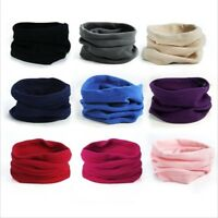 Multi-use FLEECE Headband Cap Hat Neck-warmer Tube SNOOD FACE MASK 10 Colours