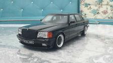 1:18 Mercedes-Benz 560 6.0 SEL AMG (W126) OT 297  Schwarz    Neuwertig  mit OVP