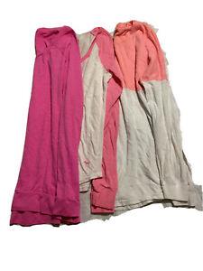 Victoria's Secret PINK Long sleeve women t-shirt size S lot of 3
