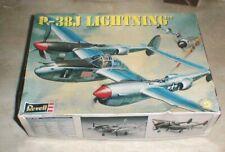 Revell WWII USAAF USAF P-38J LIGHTNING Fighter Plane Model Kit  NEW in Box