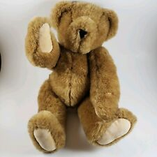 "Vermont Teddy Bear Company Plush Fully Jointed Stuffed Teddy 16"" Brown"