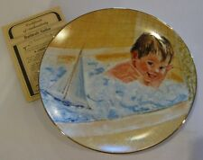 1984 Bathtub Sailor Frances Hook A Childs Play Collector Plate 4th In Collection