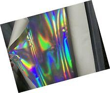 Holographic Laser Leather Fabricshiny Pu Leather Fabric for Bagswalletsheadwe...