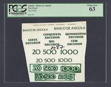 Angola - Banco de Angola 16-6-1976 Test Proof Uncirculated