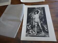 1899.jeune homme et la mort (burin de Patricot).Gustave Moreau