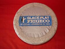 Ancien glace-plat Frigeco isotherme - Réfrigérateur de table années 50
