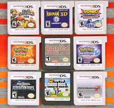 Nintendo DS & 3DS Games Authentic / Cleaned / Tested $5-25 Each Good Labels