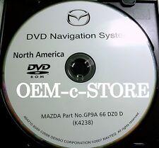 2006 2007 2008 Mazda3 Mazda6 CX7 CX9 RX8 Navigation DVD Map U.S Canada Version D