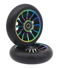 Pro Stunt Scooter Wheel 100mm Replacement Wheels ABEC 9 Bearing 2 PCSA