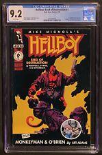 Hellboy: Seed of Destruction #1 CGC 9.2, 1st Solo Hellboy, WP, Dark Horse 1994