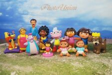DORA THE EXPLORER Friends Set 12 Figure Model Cake Topper Decoration K364_Set12