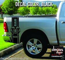 Dodge Ram 1500 2500 3500 Truck Bed Box Graphic Stripes Hemi Decal Sticker