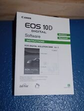 Canon EOS 10-D Software Instructions