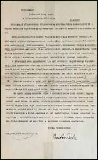 Béla BARTÓK (Composer): Important Letter about Collection of Folk Music