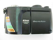 Nikon COOLPIX  E 4500 4.0MP Digital Camera - Black As Is No Battery