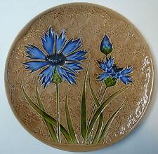 Jugendstil Keramik Teller Wandteller Villeroy & Boch Septfontaines Durchm. 29 cm