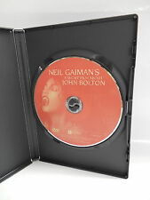 Neil Gaiman's A Short Film About John Bolton DVD Nude Vampire Artist