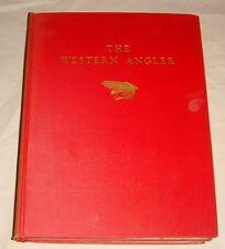 1939 THE WESTERN ANGLER VOL 1 & 2 COPY #850 VERY RARE