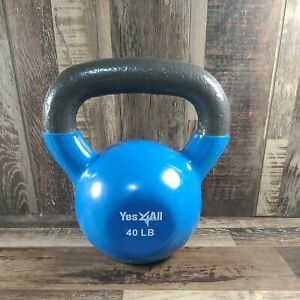40 Lb Kettlebell Weight Workout Exercise Gym Fitness - FAST SHIPPING