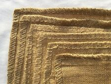 6 Extra Strong, tight weave, High grade, Hessian Sacks 53cm x 82cm (Large)