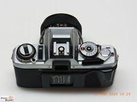 Minolta SLR Kamera X-500 + Objektiv Super Albinar MC 2,8/28mm Weitwinkel lens