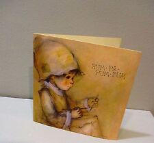 Vtg Christmas Card Hallmark Little Drummer Boy By Mary Hamilton Rum Pa Pum 70s