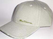 NEW Ben Sherman HERRINGBONE Hat Olive Green OSFA ($25) Cap Plaid Adjustable